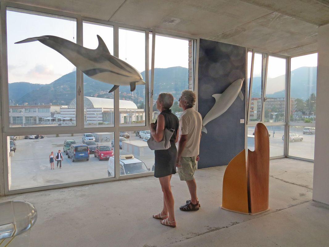 mostra luce sul mare la spezia 2013 artescienza